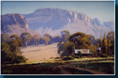 John wilson masterclass in oils workshops 5 day intensive for Landscaping courses adelaide