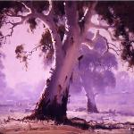 High Country Gums  -  60 x 45  © Copyright John Wilson