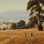 Brungle Homestead  -  60 x 45  © Copyright John Wilson